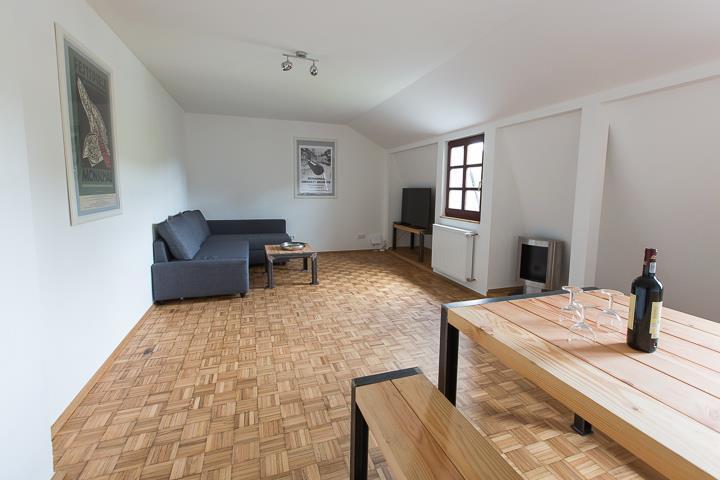 Felsenhäuschen - Wohnzimmer