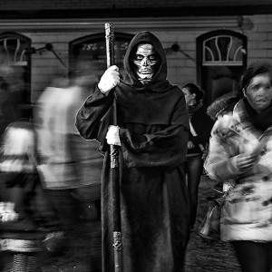 Felsenhäuschen - Halloween in Monschau